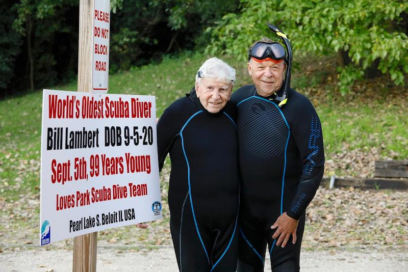 World's oldest diver at an astounding 99 years of age 5
