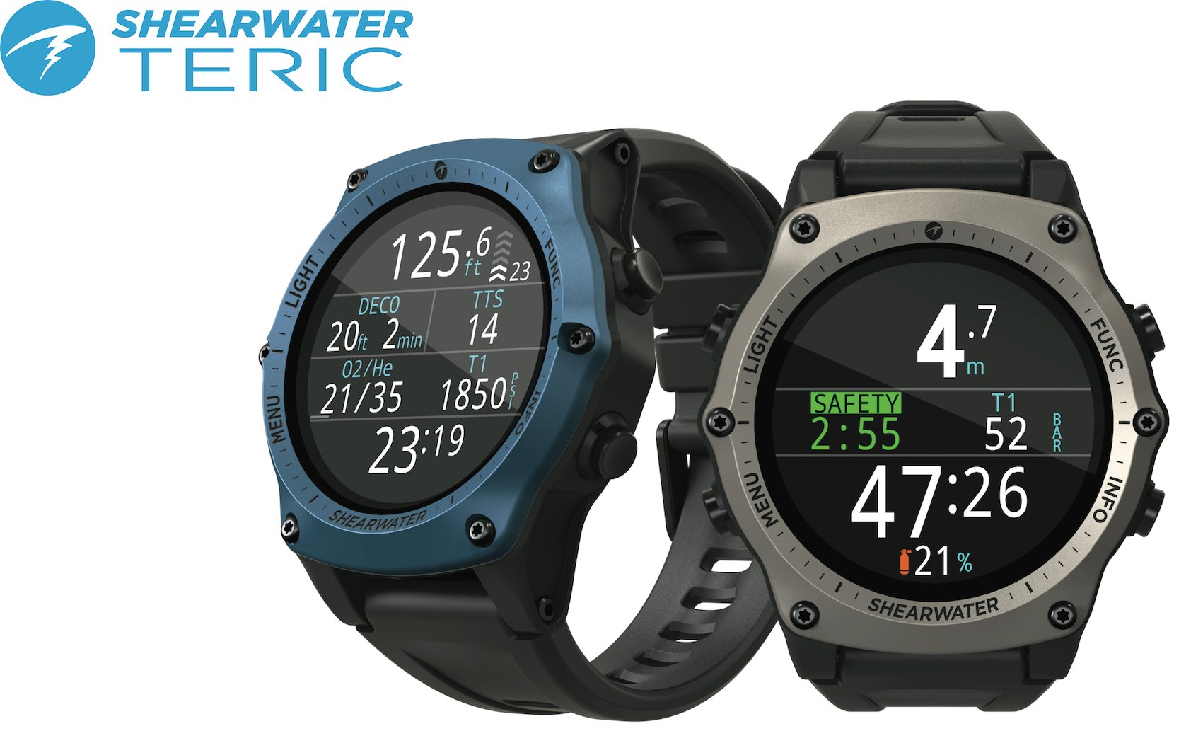 Shearwater Research launches new coloured straps and bezels for Teric 5