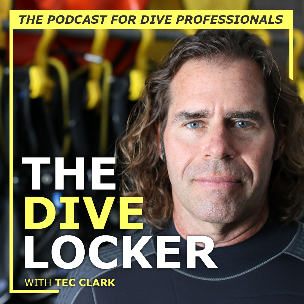 Tec Clark welcomes you into The Dive Locker podcast 5