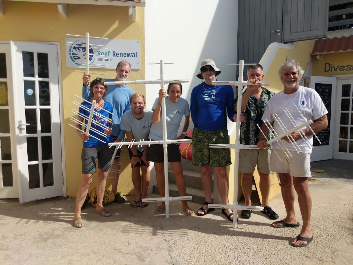 Reef Renewal Foundation Bonaire - A 'boulder' approach to reef restoration 7