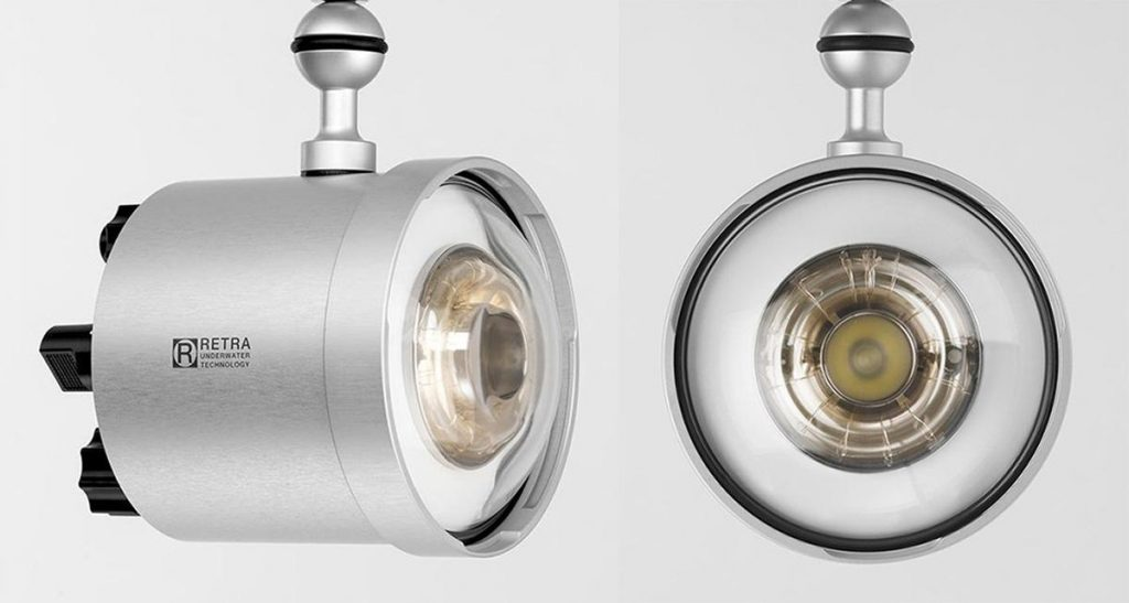 Retra Pro & Prime model strobes are currently the only underwater flash systems with a fully unbroken circular shaped flash tube.
