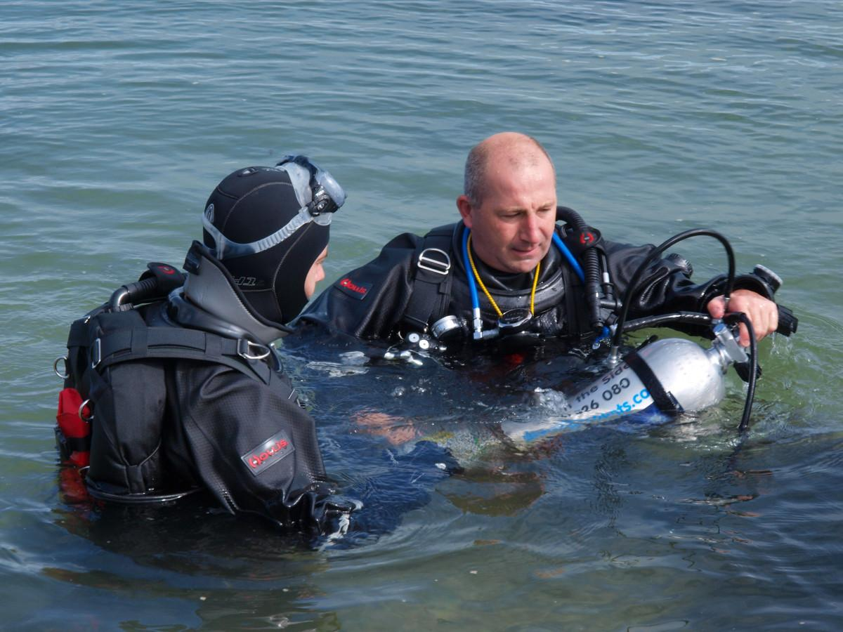 Shore Diving Tips from the Experts
