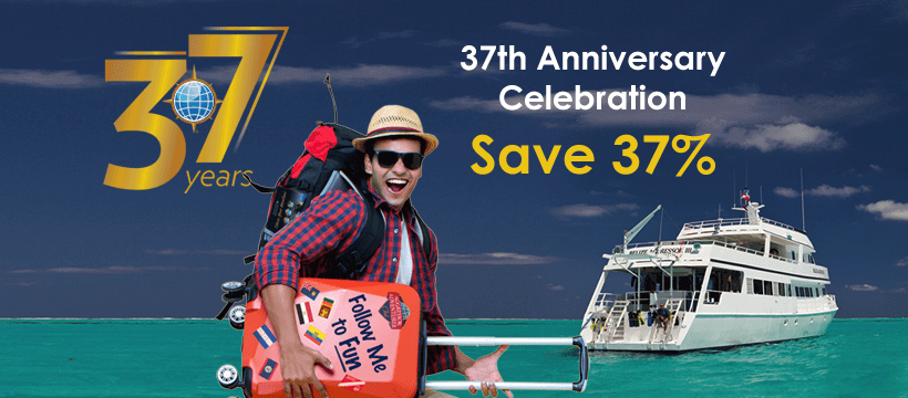 Aggressor Adventures is celebrating its 37th anniversary and has announced some extra-special offers