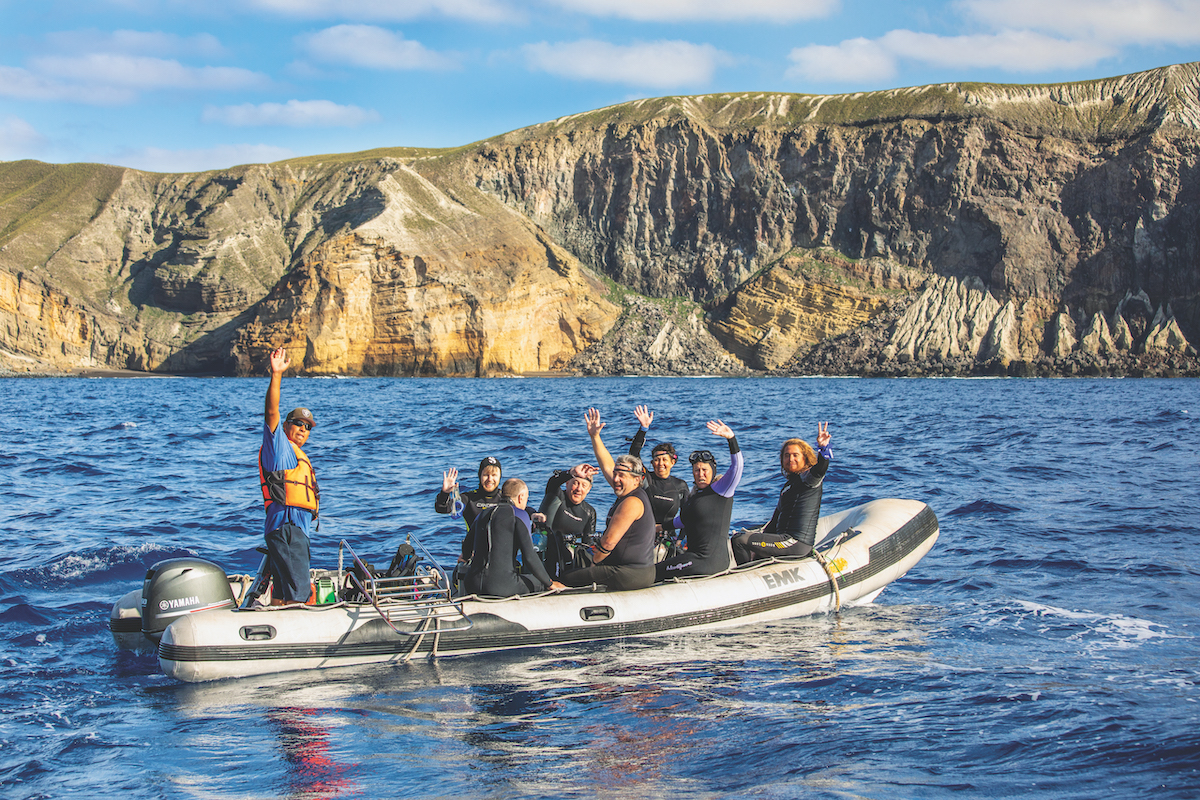 Socorro diving with Aggressor Adventures.