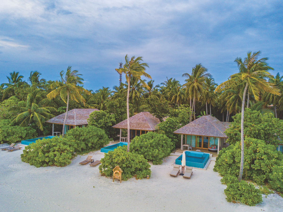 Diving in the Maldives - Dhigali Resort accommodation