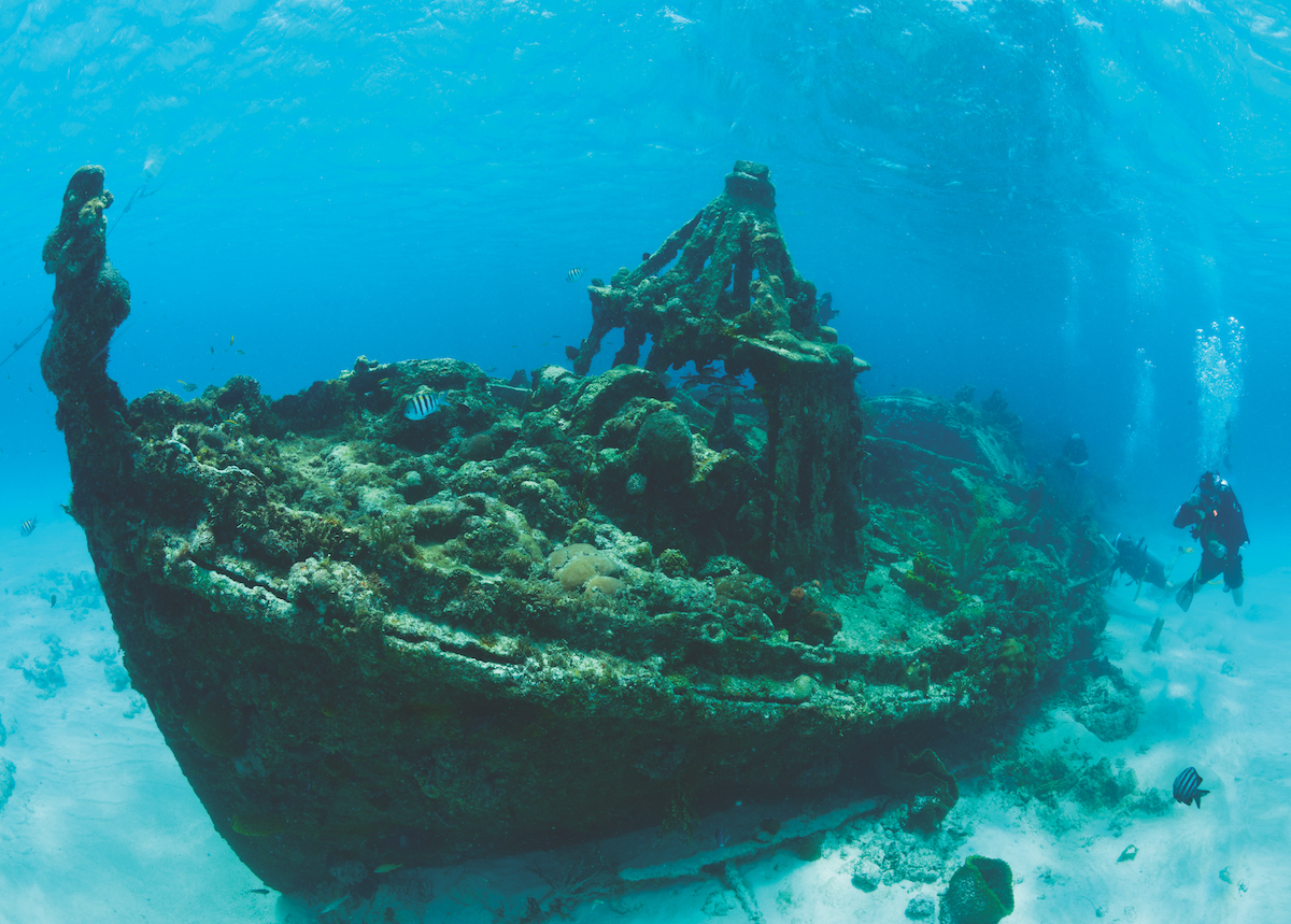 Best wreck dives in the Caribbean – Part I