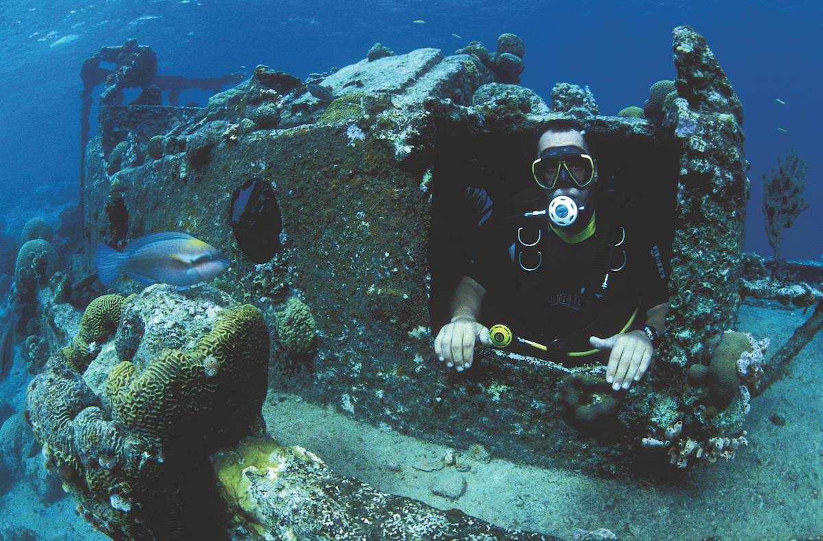 Best wreck dives in the Caribbean - Curacao