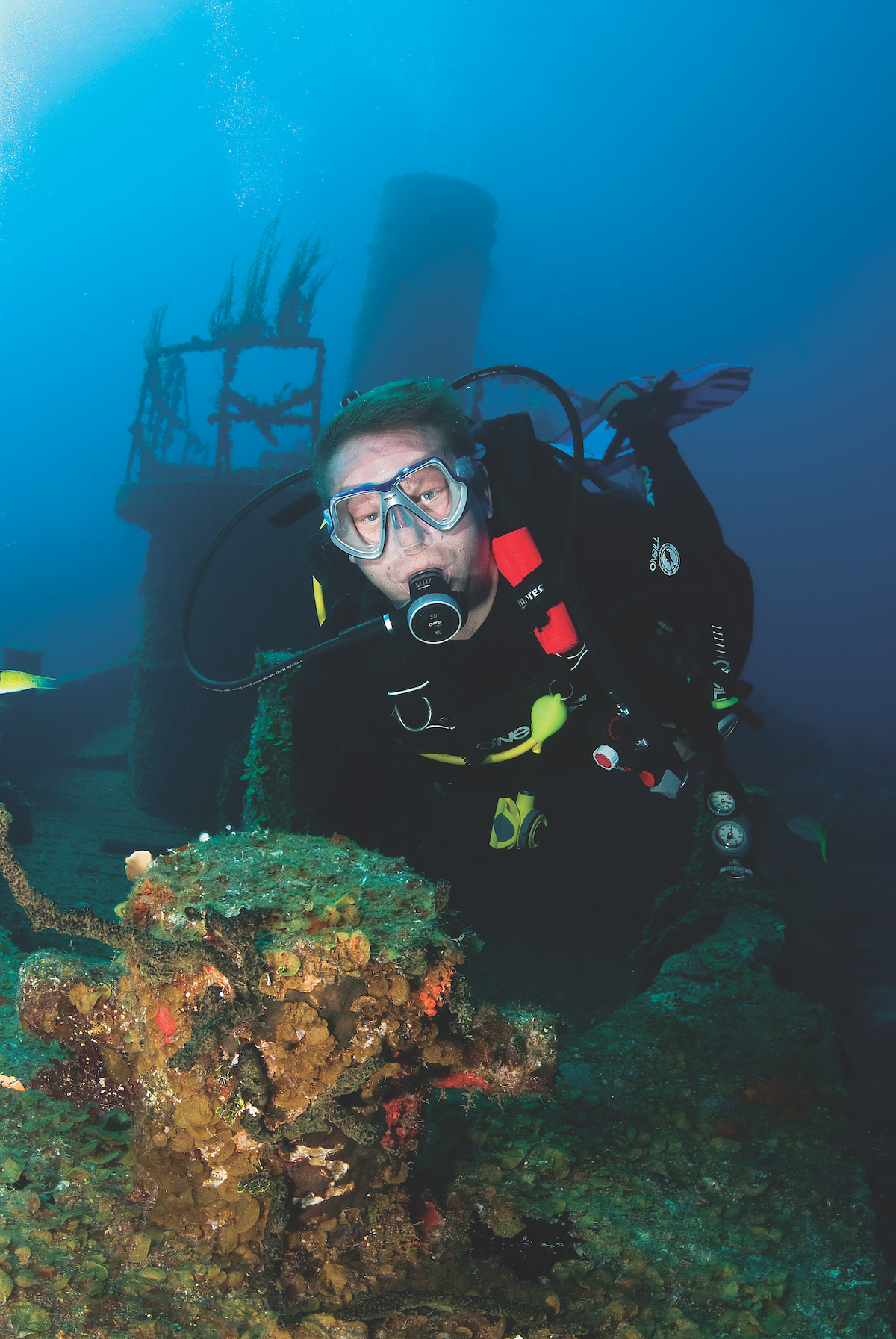 Best wreck diving in the Caribbean - St Lucia wreck