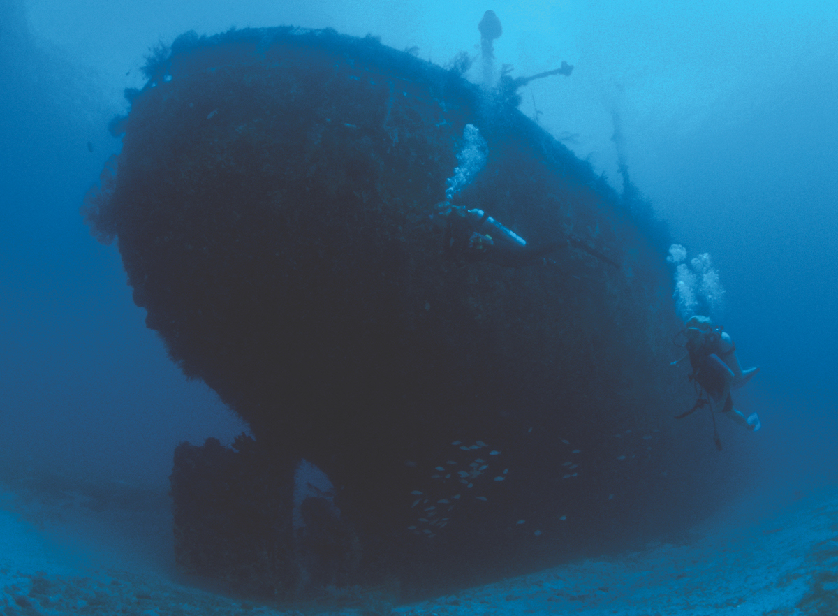 Best wreck diving in the Caribbean - St Lucia